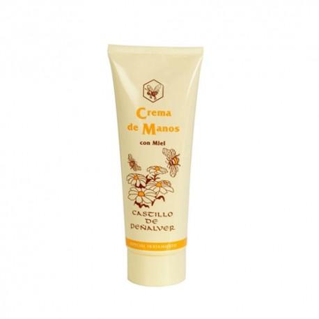 Crema de manos con miel, cera y Limón 75 ml