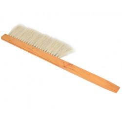 Cepillo para desabejar los cuadros. Cepillo mango madera