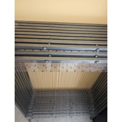 Arpa de acero, alambres en acero inoxidable