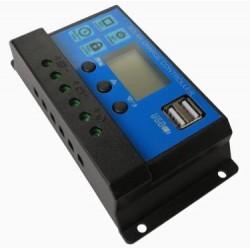 Controlador de carga Solar 12V  Regulador de cargador de PLACAS solares 10A